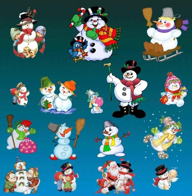 Снеговик:история жизни
