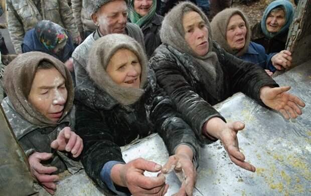 Москали не чувствительны к санкциям, поскольку едят гречку с кизяками