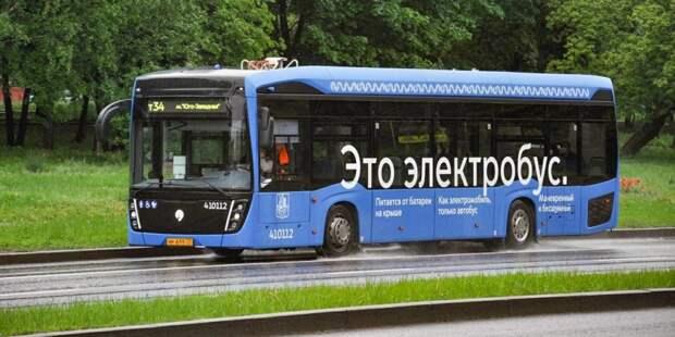 Собянин: До конца года в Москве будет около 600 электробусов. Фото: mos.ru