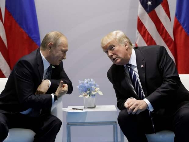 Лондон опасается возможных соглашений Путина иТрампа поКрыму исанкциям