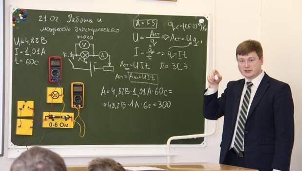 Педагоги‑призеры конкурсов поделились мастерством на открытых уроках в Подольске