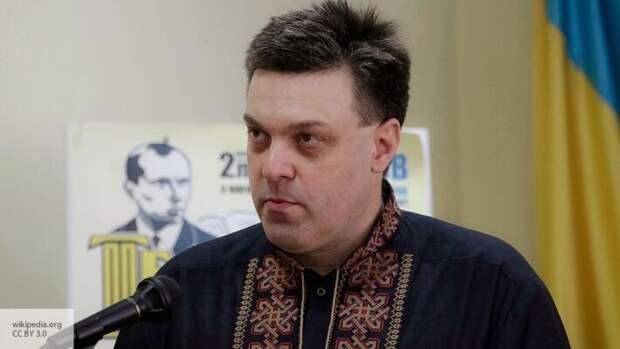 Националисты Украине недовольны Зеленским: Тягнибок призвал прижать украинских олигархов