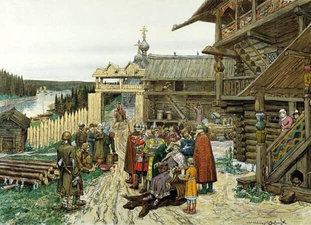 Народы и государства на территории России накануне монголо-татарского нашествия