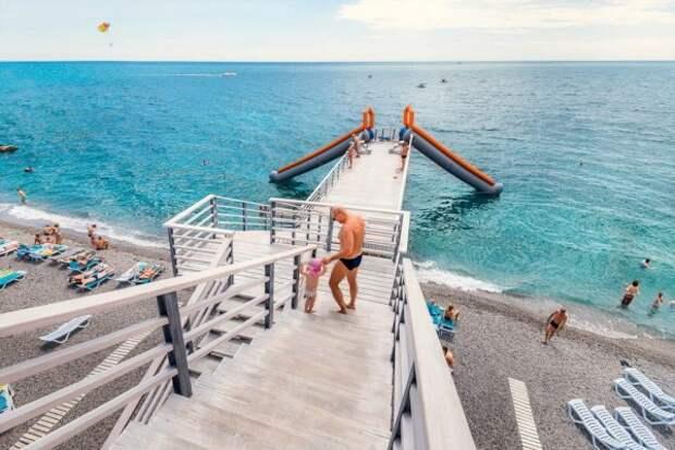 В Ялте купаться запрещено!
