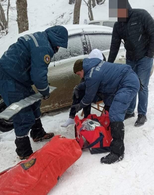 Люди массово травмируются на Ай-Петри и Ангарском перевале