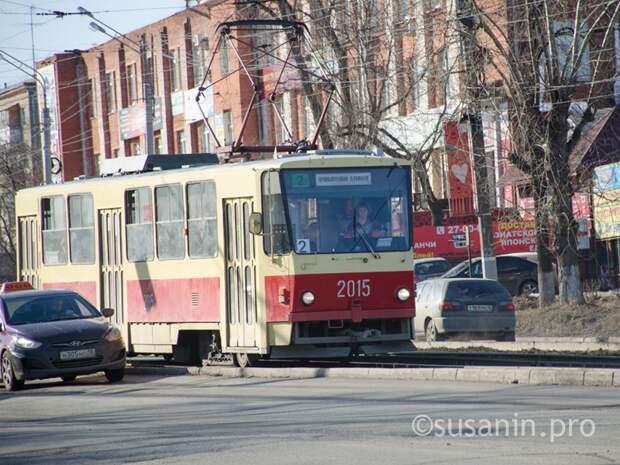 В Ижевске движение трамвая №2 по улице Карла Маркса закроют в субботу