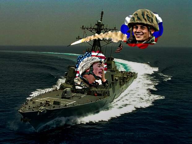 Россия выдвинула запрет США на посещение Черного моря военным флотом - сообщает