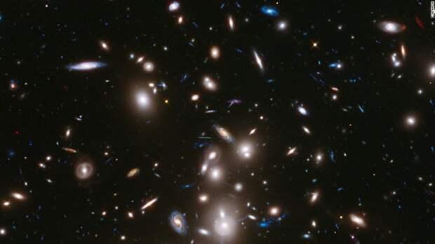 7. Откуда появились галактики космос, ученные
