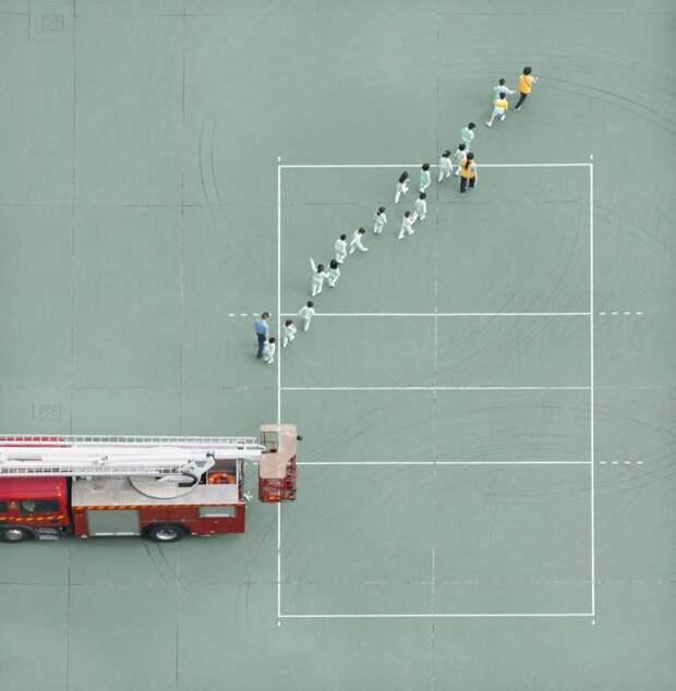 Будни пожарных из Гонконга