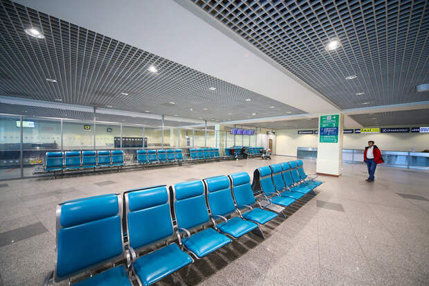 Самолеты на самоизоляции в аэропортах (ФОТО)