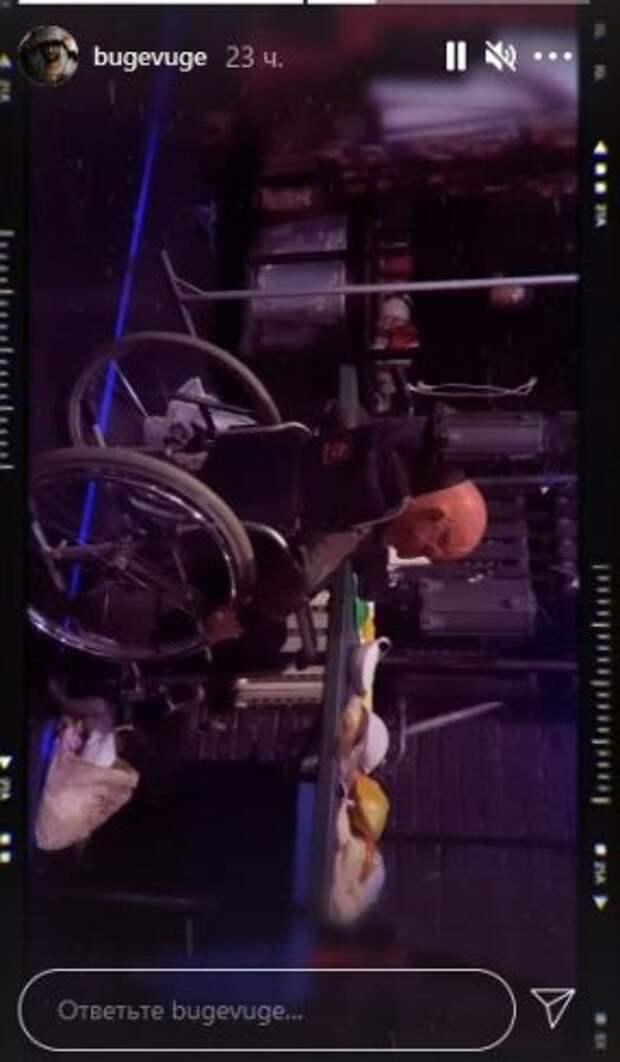 Прилучный показал сына в инвалидной коляске