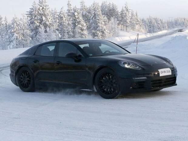Новый Porsche Panamera появится во второй половине 2016-го