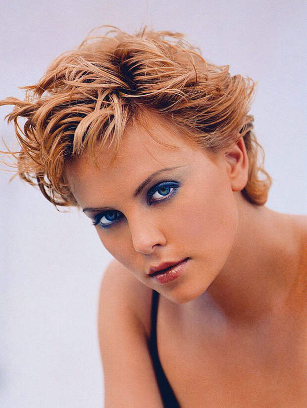 Шарлиз Терон (Charlize Theron) в фотосессии Ланса Стэдлера (Lance Staedler) (1997), фото 8