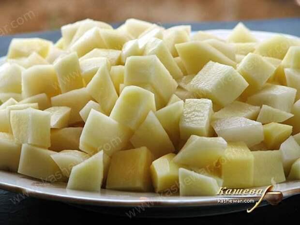 Картофель в зеленый борщ
