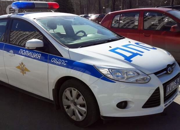 Инспекторы ДПС в Удмуртии устроили погоню со стрельбой за водителем-нарушителем