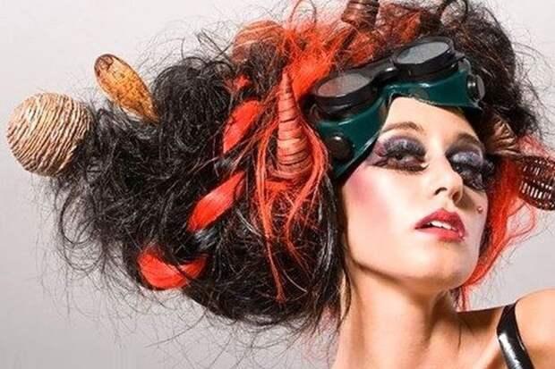 Странные прически: на что вы готовы, чтобы вас заметили? волосы, люди, прическа