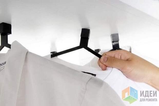 Идеи хранения одежды, многофунциональные вешалки