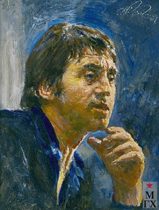 В. Высоцкий. (1986) Автор: Игорь Радоман.