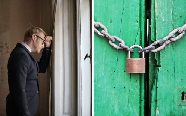 Мужчина выглянул на улицу и понял, как важно надежно запирать двери и окна