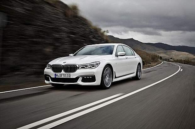 Представлен новый BMW 7-й серии с пакетом M Sport
