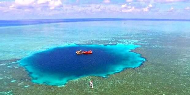 Где находится Нора Дракона — самая глубокая голубая дыра  на планете