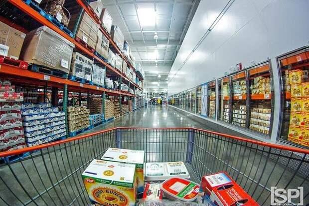 Семейные упаковки продукты, супермаркет