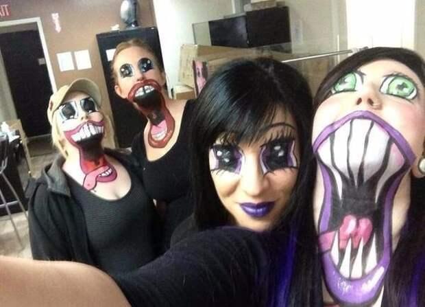 И ещё раз о макияже на Хеллоуин :-)