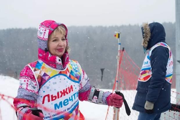 участница социального проекта из ЮВАО Елена Баларева// из личного архива