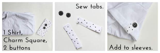 Смотрите не 3 - кнопка Добавить вкладки - 10 способов превратить белый чай - #sewing || www.sewingrabbit.com
