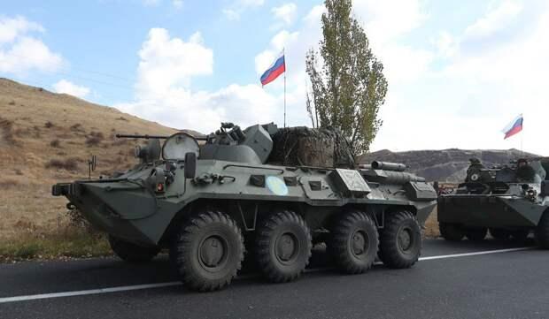 Российские пограничники обеспечат безопасность на границе Армении с Азербайджаном
