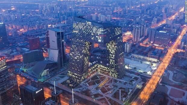 Штаб-квартира CCTV в Пекине