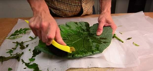 как сделать тарелку из глины видео