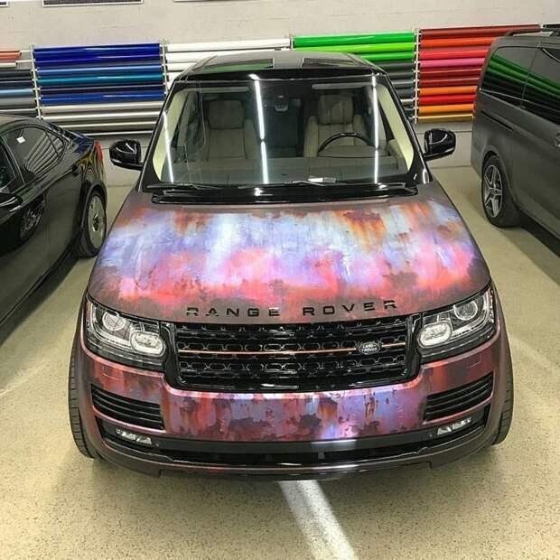 Лучшая противоугонная система для авто: «ржавая» плёнка автомобили, ржавая плёнка, ржавые автомобили, ржавый стиль