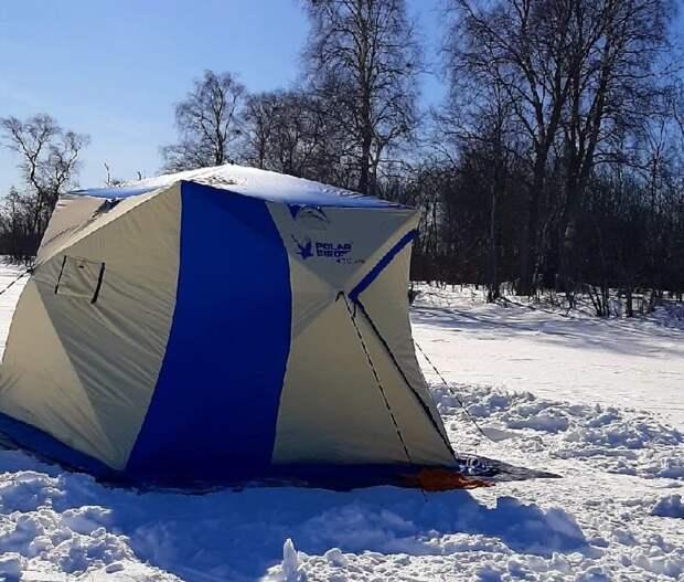 Семья из Петрозаводска почти неделю провела на льду в поисках окуня