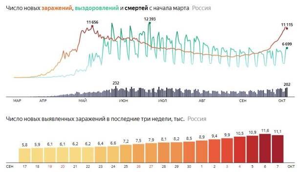 Вторая волна COVID-19 в России будет более интенсивной