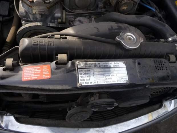 Бронированный Mercedes-Benz Алена Делона W126, mercedes, mercedes-benz, авто, ален делон