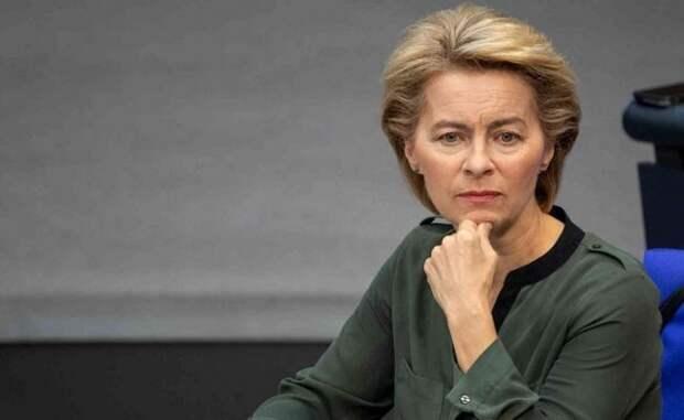 Урсула фон дер Ляйен ушла насамоизоляцию, саммит Украина-ЕС под вопросом