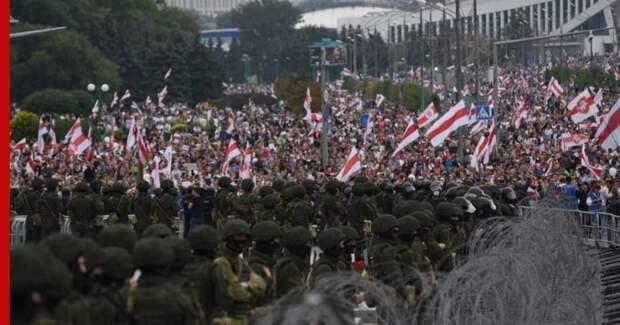 США и Европа призвали власти Белоруссии «прекратить насилие»