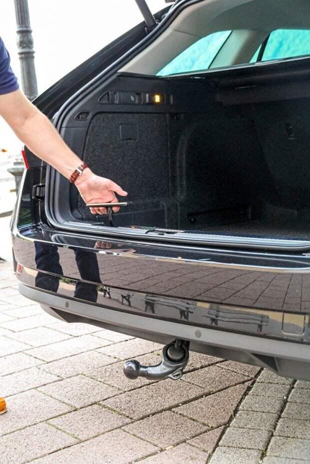 Skoda Superb Combi: дополнение к багажнику