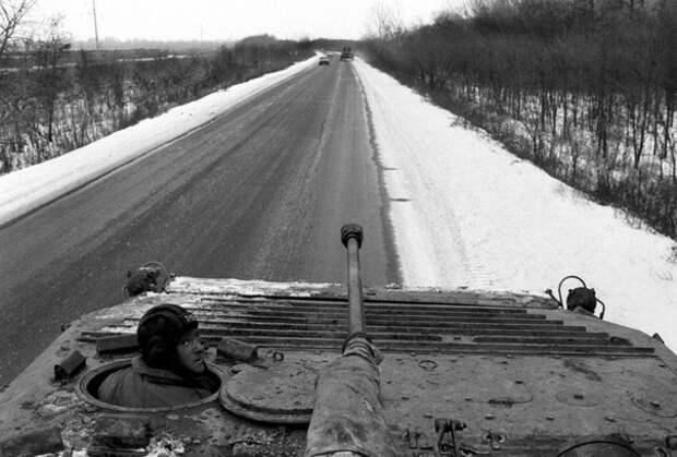 31 августа 1996 года. Вывод российских войск из Чечни.