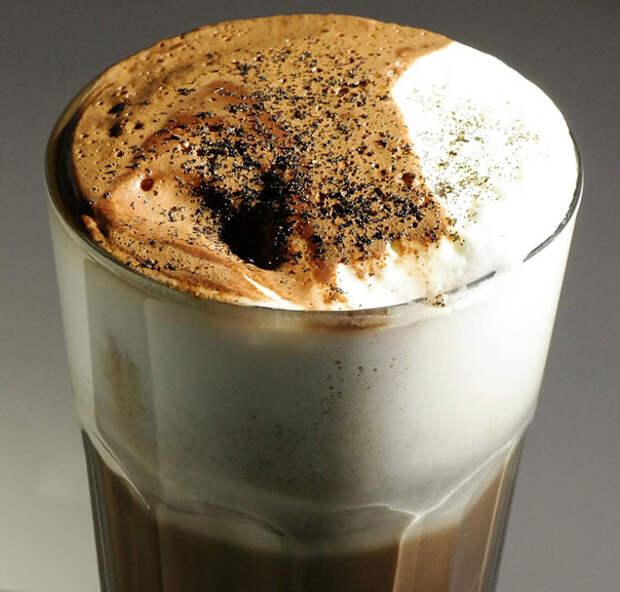 какао с корицей