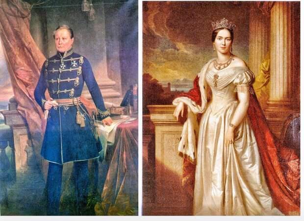 Стала Екатерина, дочь Павла I королевой Вюртемберга и женой небольшого короля..
