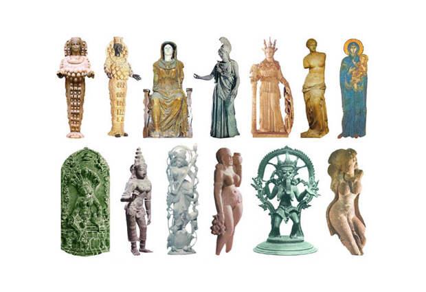 Скульптуры Богинь нашей эры