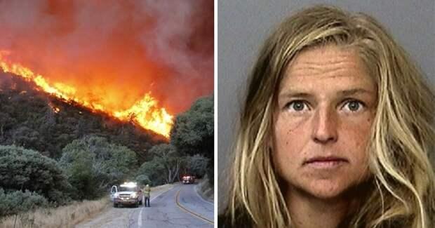 В Калифорнии шаманка кипятила медвежью мочу и устроила грандиозный лесной пожар