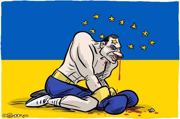Европа, это - хохлы, хохлы, это - Европа
