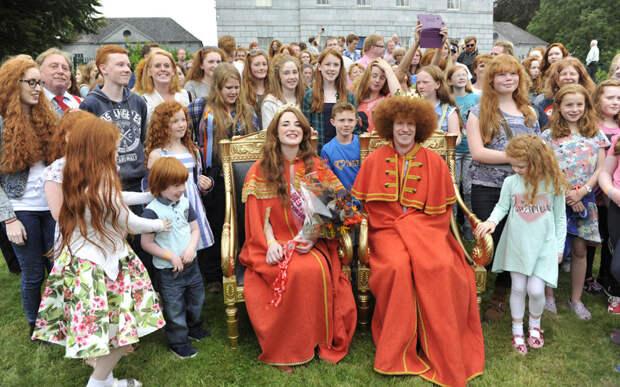 Конвенция рыжих в Ирландии