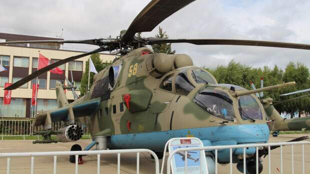 ВВС Бразилии испытали российский вертолет Ми-35М в условиях амазонских тропиков