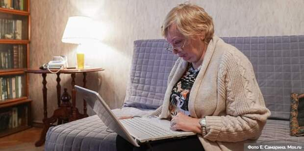 С 3 января возобновляют работу онлайн-группы «Московского долголетия» . Фото: Е.Самарин, mos.ru