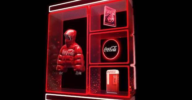Винтажный кулер и карта дружбы — Coca-Cola запускает коллекцию токенов