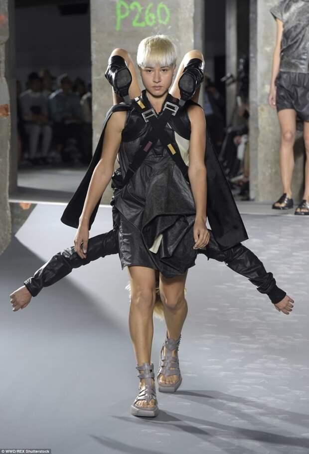 Необычная неделя моды в Париже